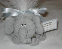 Baleiro reclin�vel elefante
