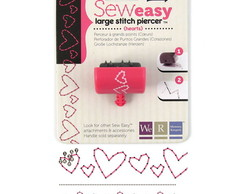 Sew Easy Large Stitch Piercer - Hearts