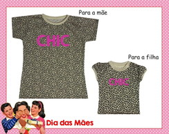 Kit Camisetas M�e e Filha - CHIC