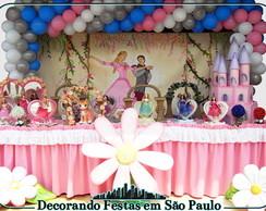 Decora��o Mesa Barbie Bailarina