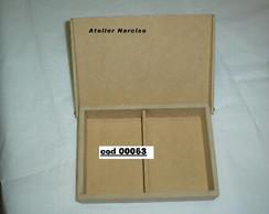 caixa simples baralho com divis�ria
