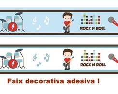 FAIXA DECORATIVA INSTRUMENTOS MUSICAIS