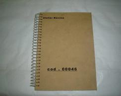 Caderno Espiral com 25 folhas