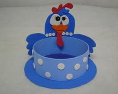 lembrancinha e centro de mesa galinha P.