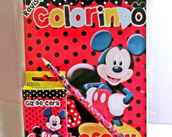 Kit Colorir Mickey