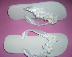 Havaiana especial para noiva