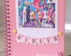 Caderno My little Pony