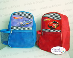 Mochila Modelo Viola Hot Wheels