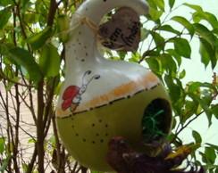 casinhas para passarinho-CABA�AS-PORONGO