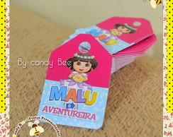 Tag Personalizado Dora a Aventureira