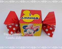 Caixa Bala personalizada Minnie