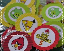 toppers para docinhos Angry Birds