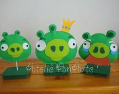 Enfeite de Mesa - Angry Birds Pigs