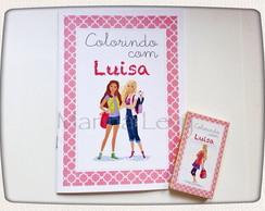 Kit Colorir - Barbie