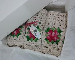 Conjunto Em Croch� Para Banheiro