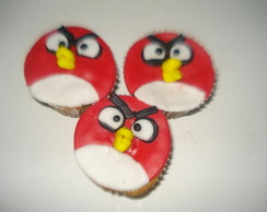 Cup Cake Angry Birds