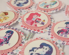 "Toppers centro de mesa ""My Little Pony"""