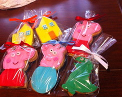 Biscoito Decorado Peppa  Pig