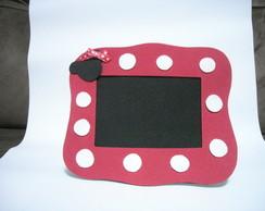 Porta Retrato da Minnie Vermelha