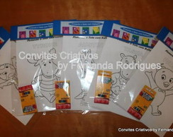 Kit para Colorir Backyardiganas