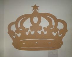 Coroa em mdf-Estrela