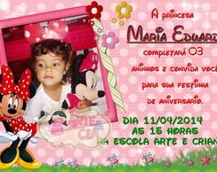 Convite Minnie - 5