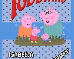 Adesivo Toddynho - Peppa Pig
