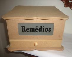 Caixa de Rem�dios com Vidro