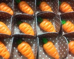 Cento de cenouras de leite em p�