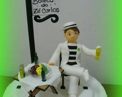 Topo de bolo - Boteco do Z� Carlos