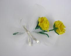 2 rosas de eva-FRETE GR�TIS