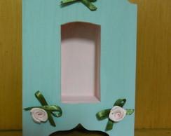 Mini- orat�rio com florzinhas de cetim