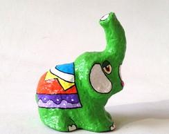 Elefante de papel mach�