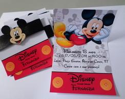Convites Personalizados Mickey