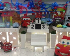 Mesa decorada no proven�al carros 2