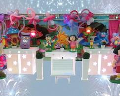 Mesa decorada no proven�al Dora e diego