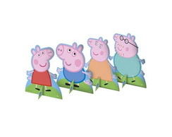 Display Peppa Pig e familia