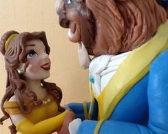 Bela e a Fera, Topo De Bolo (S� o casal)