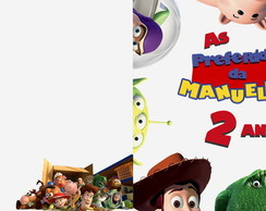 CD PERSONALIZADO TOY STORY