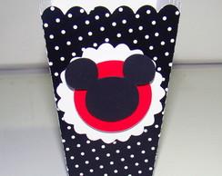 "Caixa de pipoca ""Mickey"""