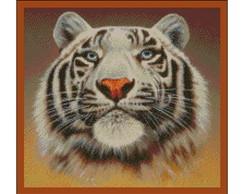 Ponto Cruz em PDF - Tigre da Sib�ria