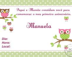Convite Corujinha 3