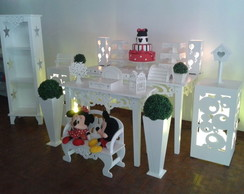 Decora��o Clean Minnie