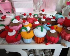 Cupcake de tecido perfumado
