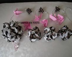 Pingente de origami