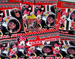 Revista kit colorir Minnie Mouse