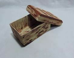 Caixa em formato de Chocolate
