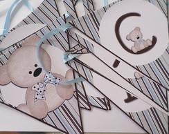 Bandeirolas Personalizadas ch� de beb�