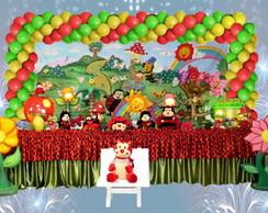 Mesa decorada Joaninha