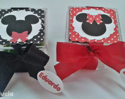 MINNIE E MICKEY-caixa acr�lico